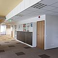 Spacious Office Hallway by Jaak Nilson