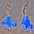Spanish Dancers by Rod Jones