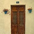 Spanish Doorstep by Perry Van Munster