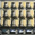 Spanish Facade Madrid by Perry Van Munster