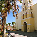 Spanish Mission In Todos Santos by Roupen  Baker