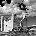 Spanish Mission Ruins Of Quarai Nm by Christine Till
