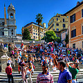 Spanish Steps by Scott Massey