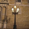 Spanish Street Light by Angela  Rose