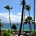 Sparkling Sea At Kaanapali Maui by Connie Fox