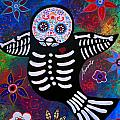 Sparrow Day Of The Dead by Pristine Cartera Turkus
