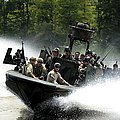 Special Forces In A High-speed Combat by Stocktrek Images