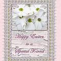 Special Friend Easter Card - Flowering Dogwood by Mother Nature