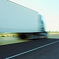 Speeding Big Truck by Gregory Dean