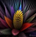 Spiky Botanical by Peggi Wolfe