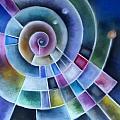 Spinning by Caroline Peacock