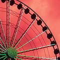Spinning Wheel by Karen Wiles