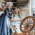 Spinning Wheel Lessons by Hanne Lore Koehler