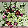Spiral Bouquet  by Barbara Griffin