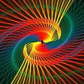Spiral Rainbow  by Kim French