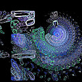 Spiralised Blues by Amanda Moore