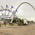 Spirit Of Oklahoma Plaza by Ricky Barnard