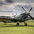 Spitfire Ready To Go by Ian Merton