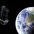 Spitzer Departing The Earth by Stocktrek Images