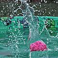 Splash Pool by Judith B Adams