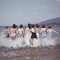 Splashing Into Lake George by B. Anthony Stewart