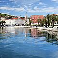 Split Bay In Croatia by Artur Bogacki