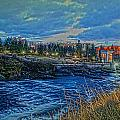 Spokane Falls  From Howard St Bridge by Dan Quam
