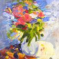Spring Bouquet by Julie Sauer