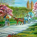 Spring In New York by Manjiri Kanvinde