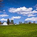 Spring In Shaker Village by Robert Clifford