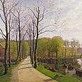 Spring Landscape by Hans Brasen
