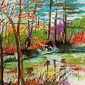 Spring Pond Side by John Williams