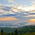 Spring Sunset Panorama by Bob and Nancy Kendrick