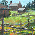 Spring Time In Nauvoo by Larry Christensen