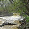 Springtime Waterfall by Don Lorenzen