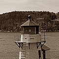 Squirrel Point Lighthouse by Skip Willits