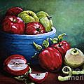 Srb Apple Bowl by Susan Herber