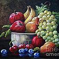 Srb Fruit Bowl by Susan Herber