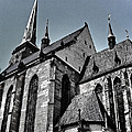 St. Bartholomew Cathedral - Pilsen by Juergen Weiss