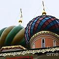 St. Basil's Cathedral 21 by Padamvir Singh