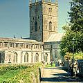 St Davids Cathedral Pembrokeshire Lomo by Steve Purnell