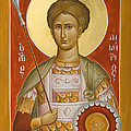 St Demetrios The Myrrhstreamer by Julia Bridget Hayes