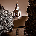 St. John's Lutheran Church In The Trees by Edward Peterson