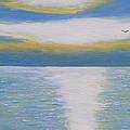 St Lawrence River Eagle by Robert P Hedden