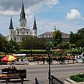 St. Louis Cathedral by Beth Gates-Sully