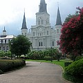 St. Louis Cathedral Ll by Phebe Smith