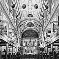 St. Louis Cathedral Monochrome by Steve Harrington