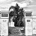 St Louis Cemetery Gate - New Orleans by Bill Cannon