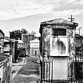 St Louis Cemetery - New Orleans by Bill Cannon