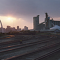 St. Louis: Freight Yard by Granger